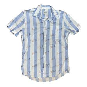 American Eagle Men's Short Sleeve Paradise Shirt